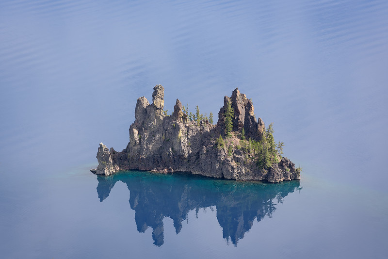 """Phantom Ship"" of the Crater Lake"