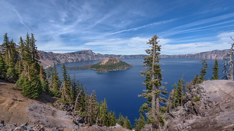 Panorama of Crater Lake
