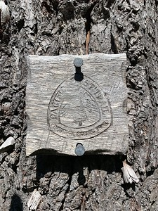Old PCT sign
