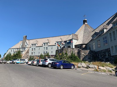 Timberline Lodge, our starting point.