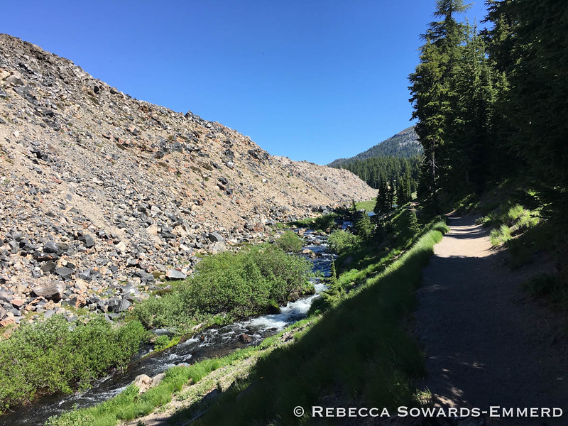 Lava Flow along the creek