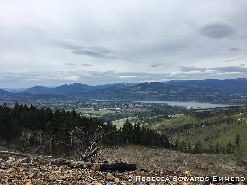 Columbia River and Hood River