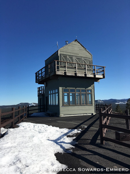 Lava Butte Fire Lookout.