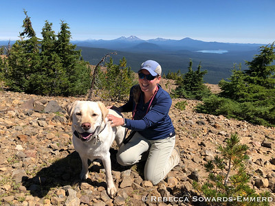 Me and my best hiking buddy.