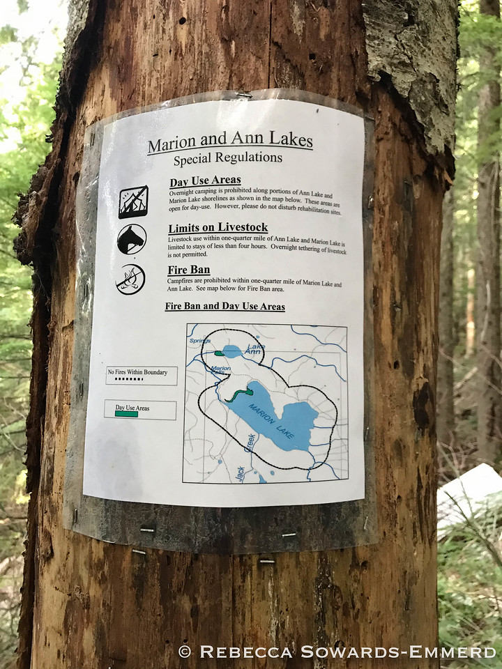 I'm just on a dayhike, but thought this info was useful if I come back for a backpack.