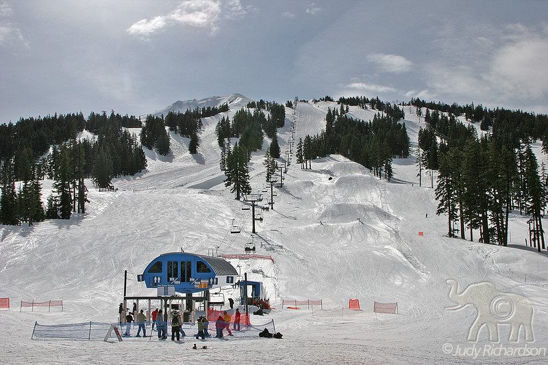 Mt. Bachelor Ski Lift