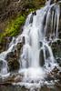 A small roadside waterfall near Mt. Hood, Oregon, USA.