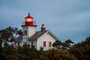 The Yaquina Bay lighthouse at Newport, Oregon, USA.