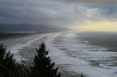 Windy Coastline
