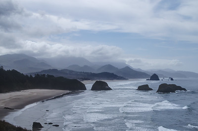 Ecola Beach, Oregon