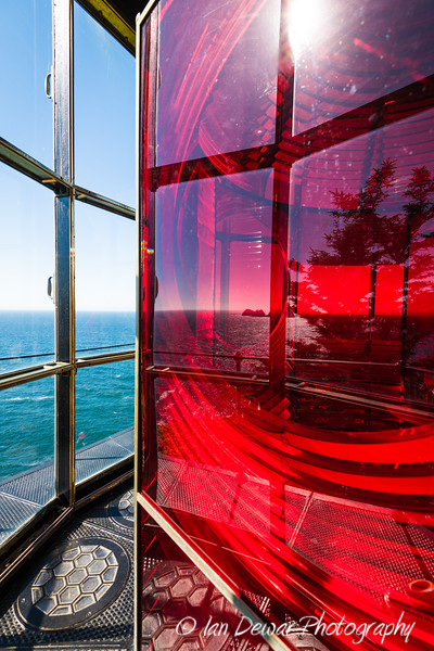 Cape Meares Lighthouse Glass
