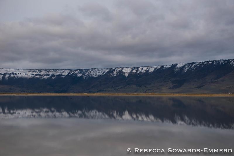 Winter Ridge from Summer Lake Wildlife Area