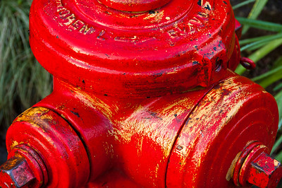 red fireplug
