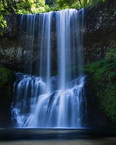 Below Lower South Falls