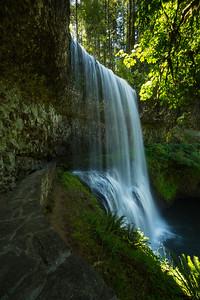 Leaving Lower South Falls