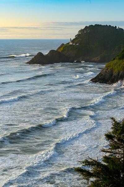 Oregon - Heceta Head Lighthouse Sunset