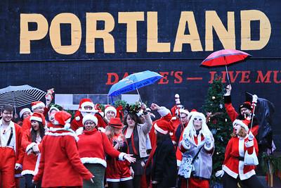 Santacon, Portland, Oregon