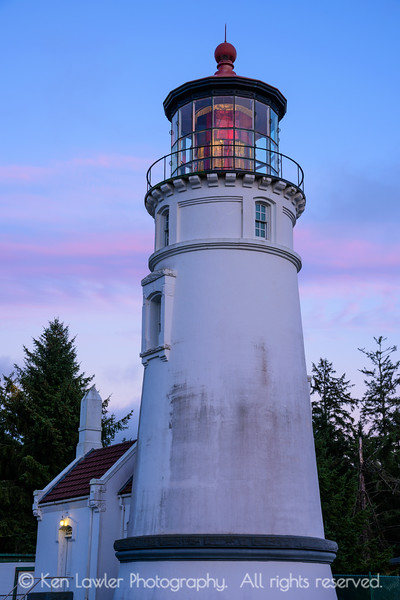 Umpqua Lighthouse twilight