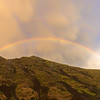 Rainbow at the top of the Canyon