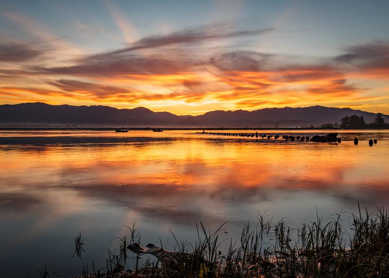 Tillamook Bay Sunrise I