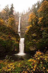 Classic Multnomah Falls