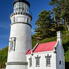Heceta Head lighthouse detail