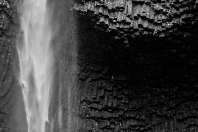 Latroufell Falls along the Columbia River Gorge in Oregon.  Photo by Kyle Spradley | www.kspradleyphoto.com