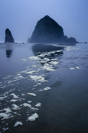 Cannon Beach in the Fog