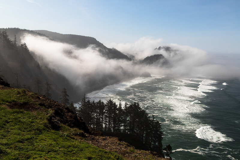 Approaching Marine Layer at Cape Meares