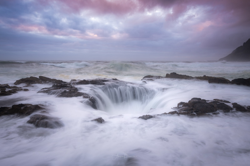 Thor's Well ~ Cape Perpetua ~ Oregon Coast