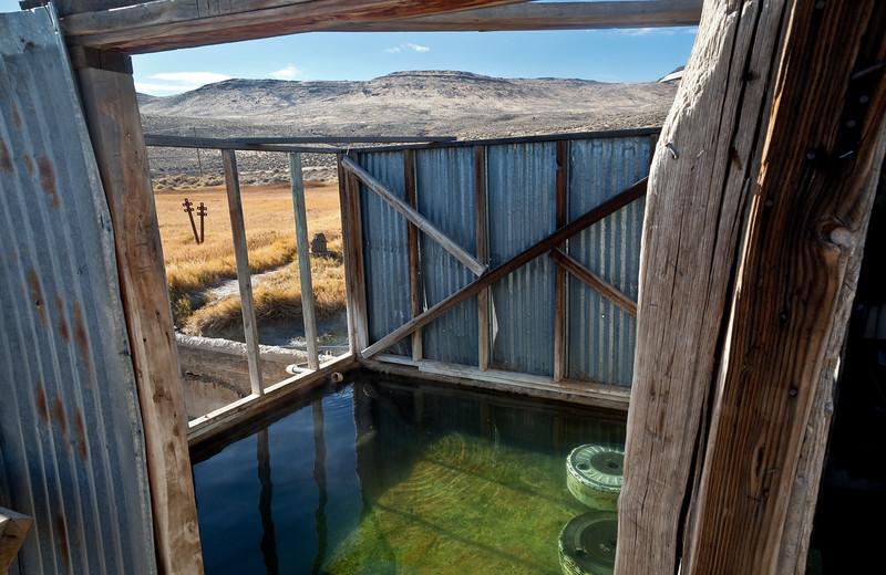 Entering the Alvord Hot Springs