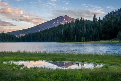 Mt. Bachelor Reflection
