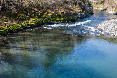 Clear Water River in Oregon