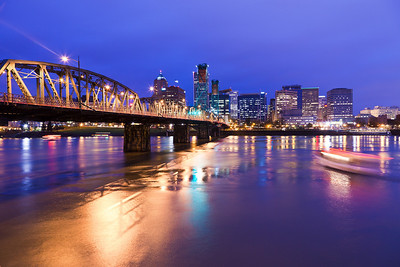 Portland skyline, Oregon