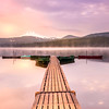 Morning Glow over Olallie Lake