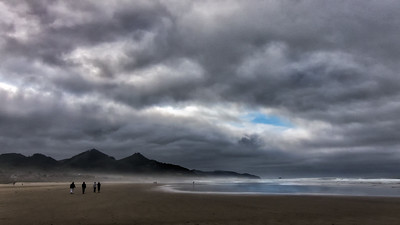 Richards___Bad Weather on Cannon Beach