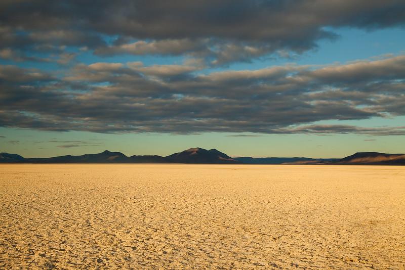 Last Light on the Alvord Desert