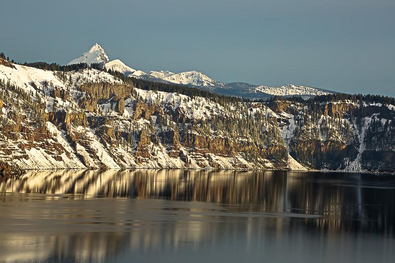 Crater Lake Morning Light