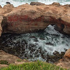 Water Churning Inside Devils Punch Bowl