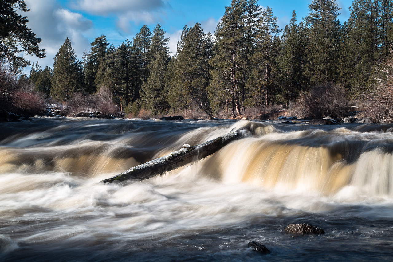 Winter on the Deschutes River