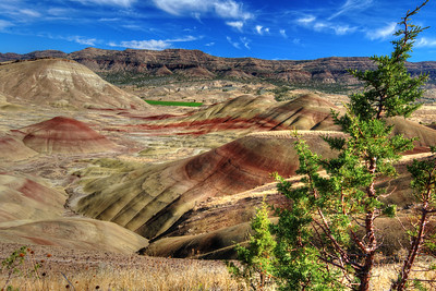 Painted Hills at the John Day National Fossil Bed Area in Oregon