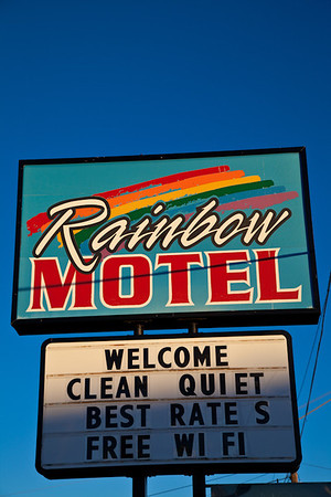 Rainbow Motel, Bend, Oregon