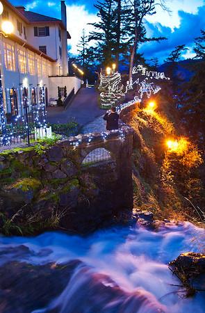 Columbia Gorge Hotel, Hood River, Oregon