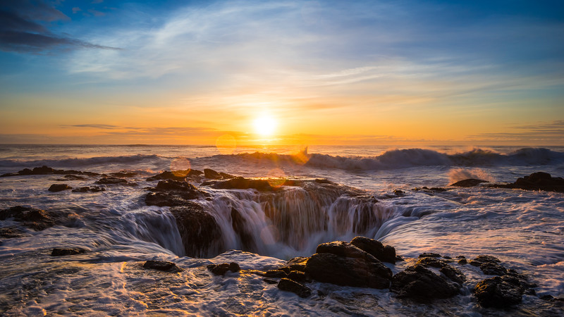Oregon - Thor's Well