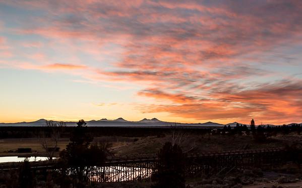Powell Butte Sunset
