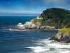 Heceta Head Lighthouse on the Central Oregon Coast<br /> July 2006<br /> <br /> Copyright © 2006 Rick Kruer<br /> rickkruer.com<br /> <br /> ND70_2006-07-25DSC_5907-HecetaHeadLighthouseCloseup-3.psd