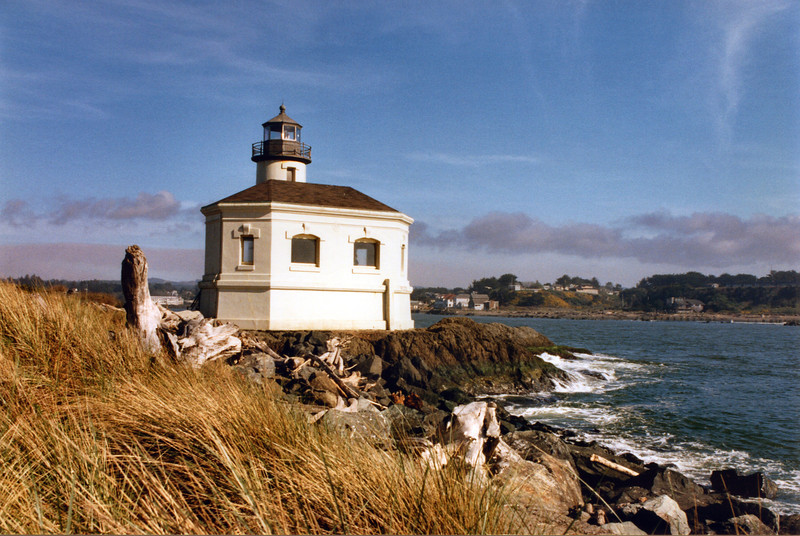 The decline in shipping after the fire led the Coast Guard to decide in 1939 to close the station and replace it with an automated light on the south jetty.  The Keepers duplex was torn down and its lumber was sold.