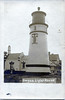 An old postcard view of the Umpqua River Lighthouse in Oregon