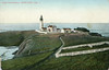 Old postcard view of the Yaquina Head Light Station