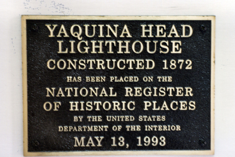 Winds of 80-100 mph are not uncommon on Yaquina Head. During construction, one of the workmen was blown off the cliffs, but luckily he only received minor injuries.